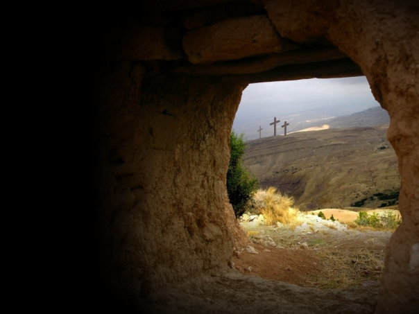 """Do not be afraid, for I know that you are looking for Jesus, who was crucified. He is not here; he has risen, just as he said. Matthew 28:5-6"